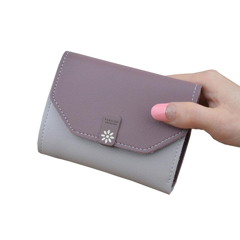 Flowers Woman Wallet Small Hasp Coin Purse For Women Luxury Leather Female  Wallets Design Mini Lady Purses Clutch Card Holder Owl Wallet Visconti  Wallet ... 760112e0581ab
