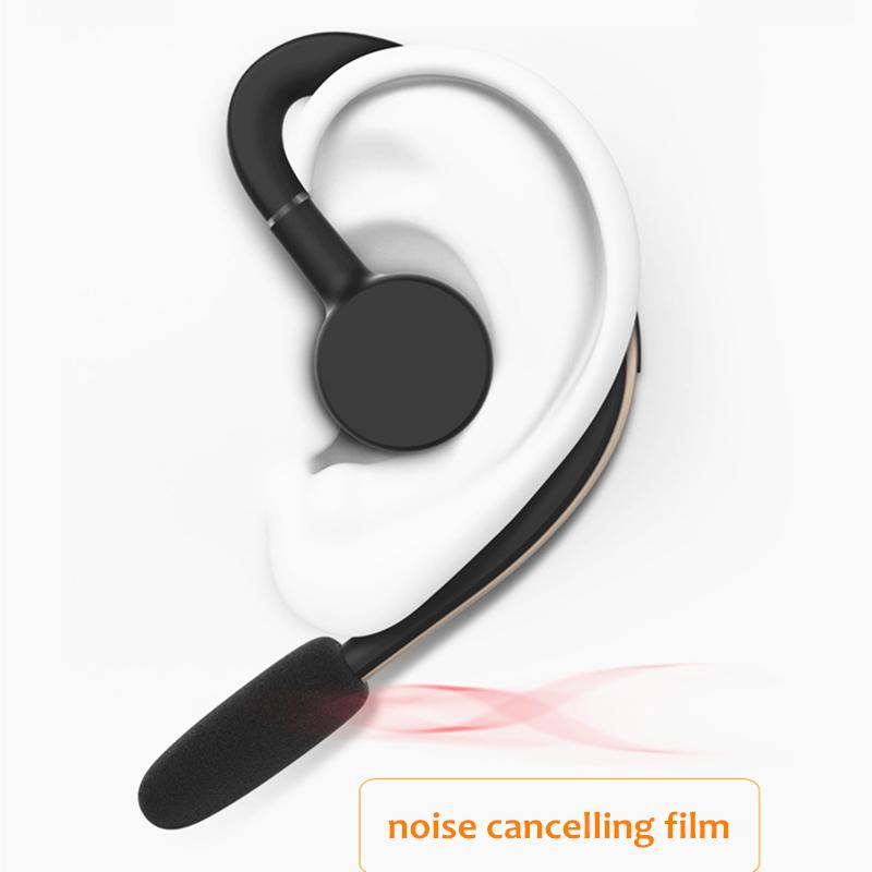 Handsfree Wireless Bluetooth Headset Business Earphone Noise Cancelling  Sports Bluetooth Headphone With Mic Voice Control Driver Usb Headphones  Best Cheap ... 4ef811e596