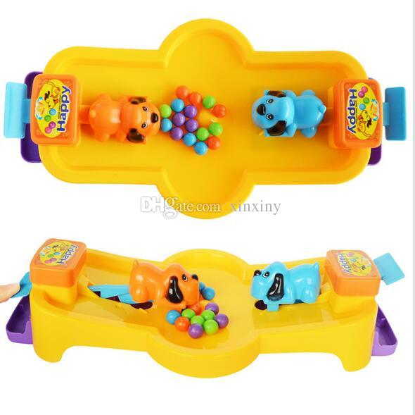 2018 Enfant Chien Pacman Toy Desktop Greedy Pearl Puzzle Mange Ball Bean 2and3 Jeux Interactifs