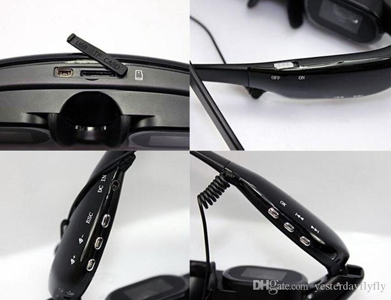 """New Hot - 4GB 52"""" Wide Screen HD 3D Stereo Virtual Video Glasses Eyewear Mobile Theatre Music Player Ebook"""