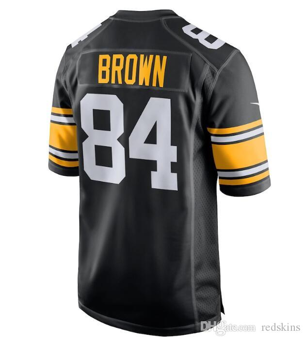 online retailer 8b551 c7639 Women's 84 Antonio Brown Jersey Alejandro Villanueva Pittsburgh Steelers  camo salute to service woman american football jersey womens new