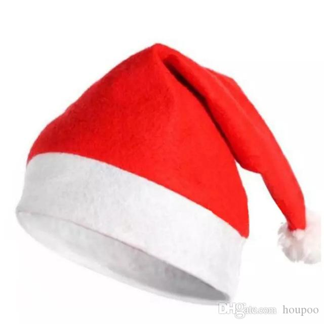 301fbb0ac6ceb Christmas Santa Claus Hats Red And White Cap Party Hats For Santa Claus  Costume Christmas Decoration For Kids Adult Christmas Hat Christmas Party  Hat ...