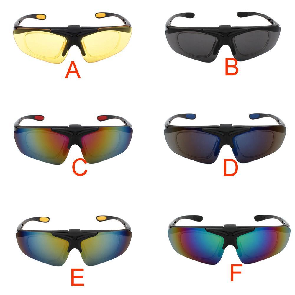 Compre Robesbon Multicolor Acessórios Ao Ar Livre Unissex Óculos De  Ciclismo Da Bicicleta Da Bicicleta Óculos De Sol Óculos Miopia Óculos De  Armação A20 De ... e229795adf