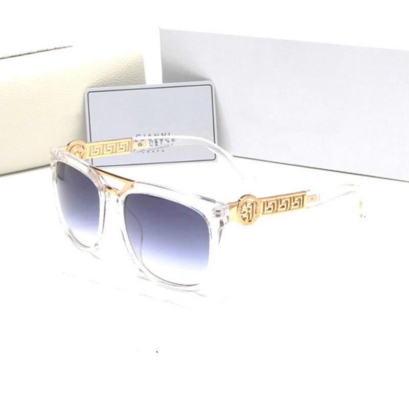 Suit All Facial Outdoor Driving Sun Glasses UV 400 Clear Vision Sunglasses Large Full Frame Fashion Eyeglasses For Men Women 15gf Z