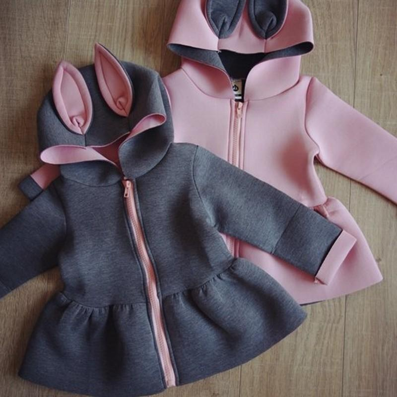 868914b55ff8 New Baby Jas Fashion Hooded Girls Coat 0 2 Age Cappotto Bimbo Baby ...
