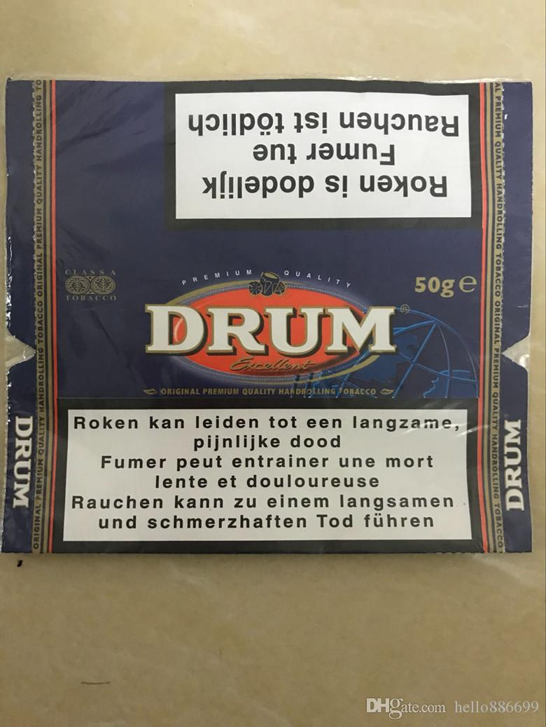 2019 New Golden Virginia Plastic Drum Free Duty Printed