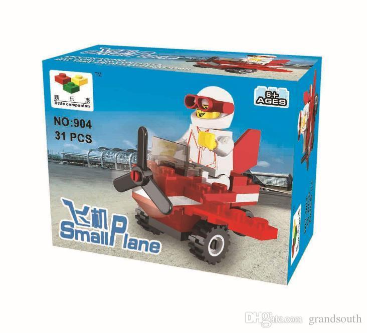 24 Designs Toys Building Block Anime Diamond Plastic Blocks Figures Bricks Toys Gift Mini Excavator Plane Race Car Brick Toy With Retail Box