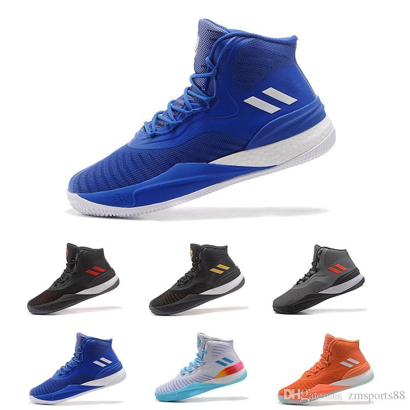 2018 New Men Derrick Rose 7 Casual Shoes Outdoor Walking Jogging Shoes  Yellow High Popular Men Women Shoes Size 40 46 Limitied Sale Womens Sandals  ... e06863a72