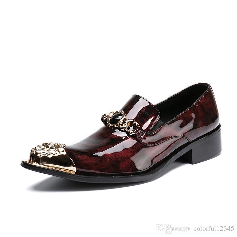 Grosshandel Plus Size 47 Klassische Herren Business Kleid Schuhe