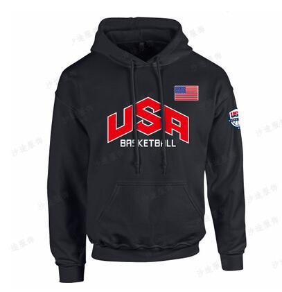 Tide basketball dream team hoodies for men fashion america team hoodies sueltos hombres ejercitan USA men hoodies envío gratis