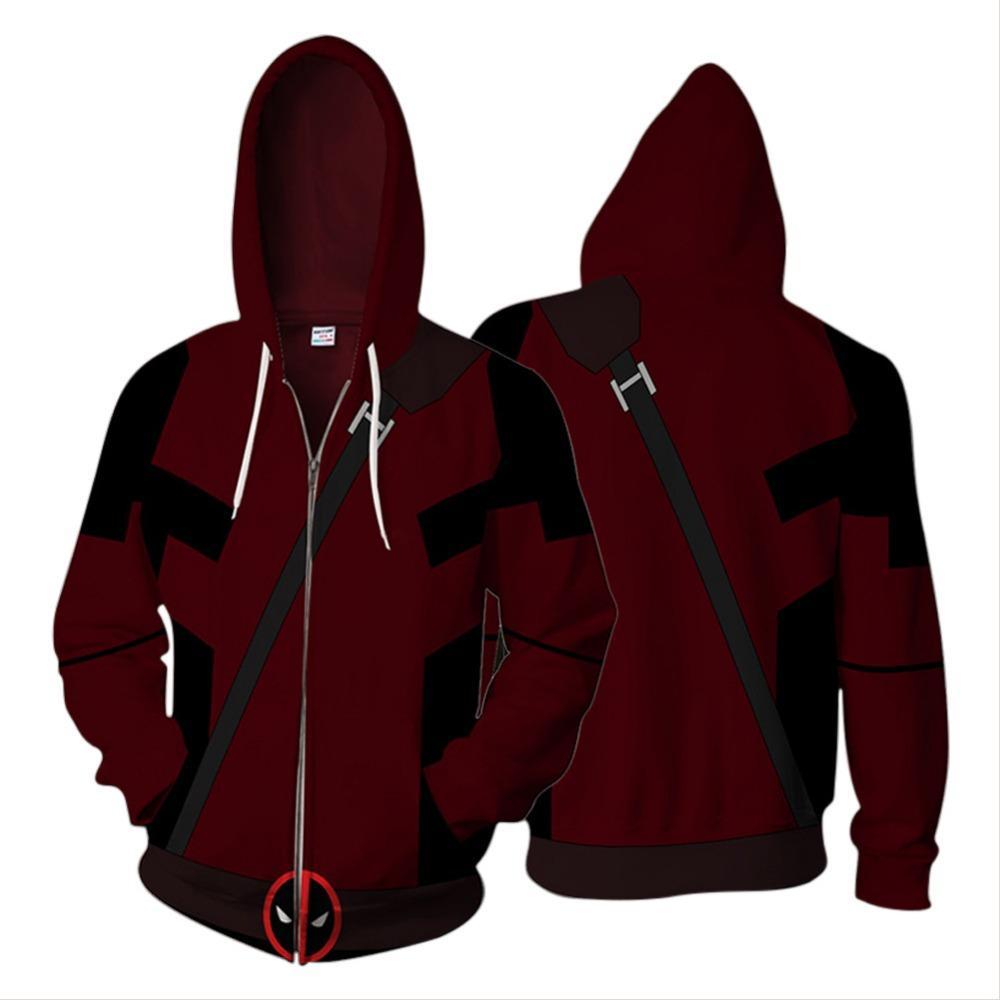 Acheter 2018 Marvel Deadpool Hoodie Zipper Garçons 3D Imprimé Hoodies  Zipper Vêtements De Sport Hoodies À Capuche De  43.72 Du Yukime   DHgate.Com dfd04f14f56f