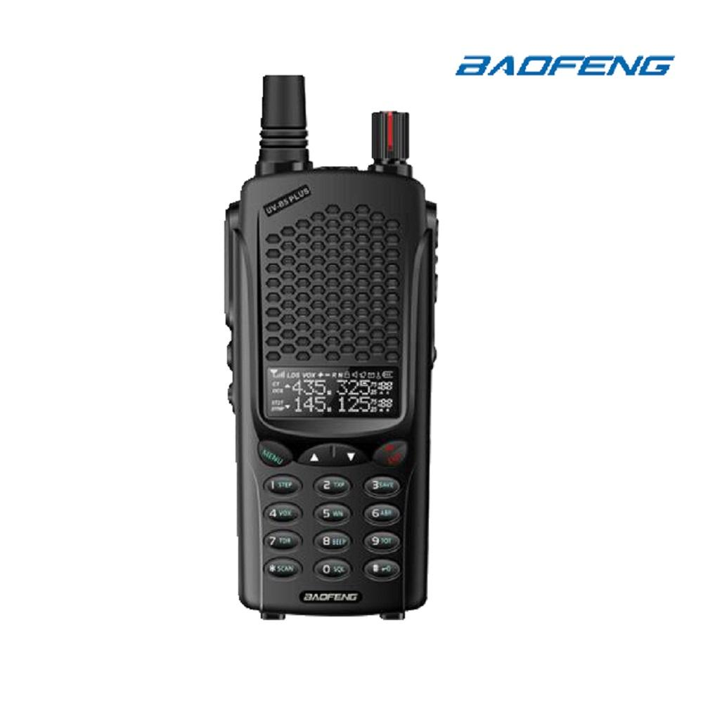 Baofeng B5 Plus Walkie Talkie 2 Gen Transmitter UHF/VHF VOX Ham Two Way  Radio Ultra Thin Design more fit your hands Scanner