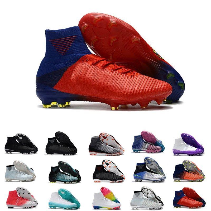 Compre Hombres CR7 Mercurial X EA SPORTS Superfly V FG Zapatos De Fútbol  Magista Obra 2 Niños Soccer Cleats Mujeres Fútbol Botas Youth Cristiano  Ronaldo A ... 05c23a9b82643