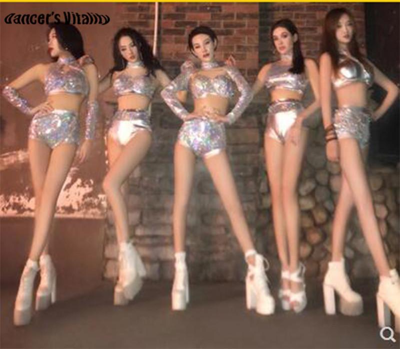 Compre Traje De Lentejuelas Sexy Disfraz DS Nightclub Dance Group Traje De Baile  Ropa De Fiesta Cantante Stage Performance Ropa Disfraz De DJ Stage A  55.58  ... 0fd0db448cd