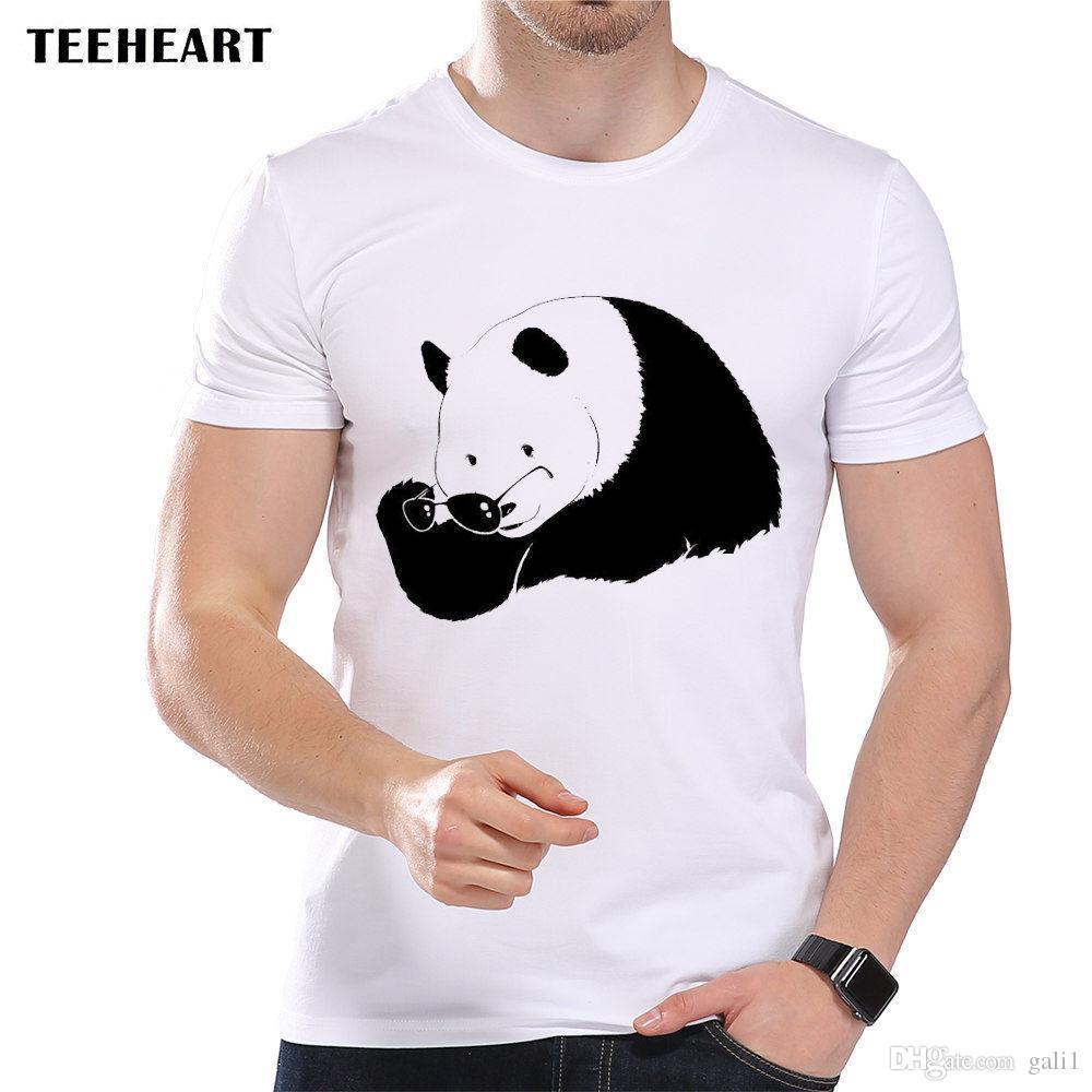 Blague Charmant Géant Drôle Panda Shirt Cool De T Bear Soleil Hommes Lunettes E2YDW9HI
