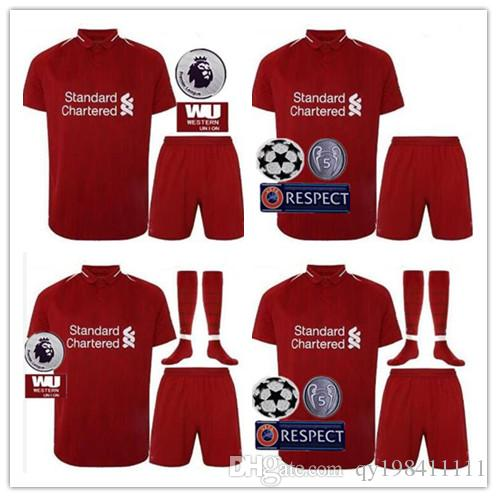 2019 Perfect 18 19 L Iverp Ool Soccer Jerseys Set Custom Name Number  GERRARD COUTINHO 10 Football Shirts AAA Quality Patch EPL From Qy198411111 b72e618f9