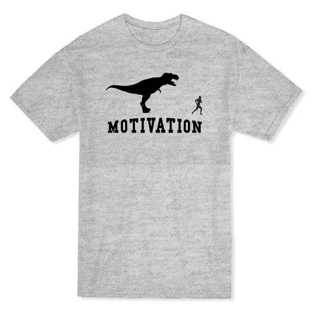 1def77ed Motivation Funny T Rex Graphic Design Men'S Sportser Grey T Shirt New Men'S  Fashion Short Sleeve T Shirt Mens Joke T Shirt Coolest Tee Shirts From  Amesion96 ...