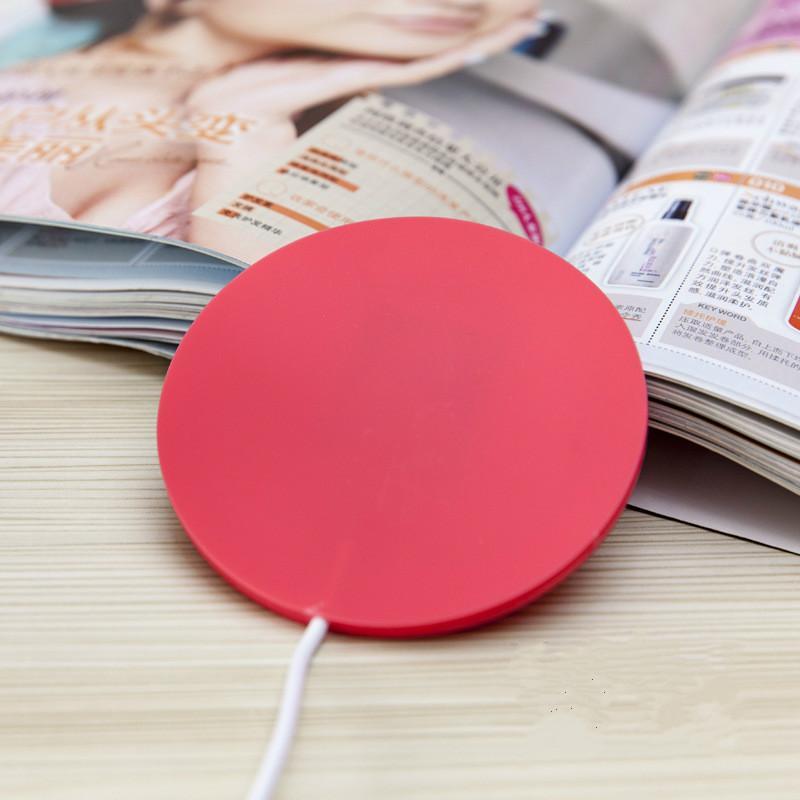 DHL Silicone Dessous De Verre Tasse Thermos pad Tasse À Café USB Tasse De Chauffage Tapis De Chauffage USB Réchauffeur Réchauffeur pour Thé Au Lait