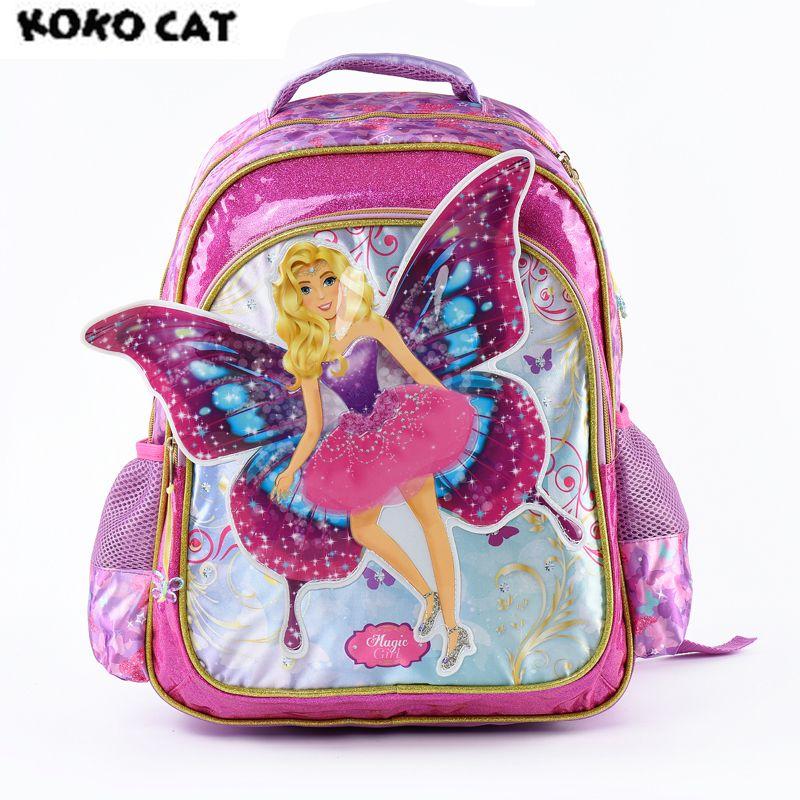 41770275d8d5 Cartoon 3D Kids Children School Backpack Cute Angel Bags Girl Bookbag  School Backpacks For Teens Girls Student Schoolbag Y18100805 Girls Backpacks  For Sale ...