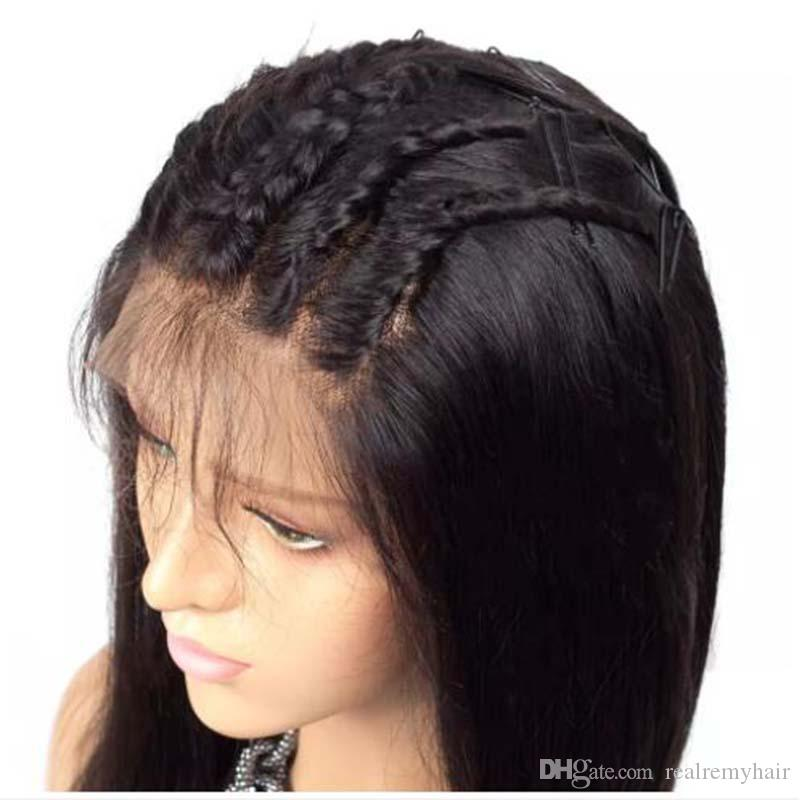 Brazilian 360 Lace Frontal Body Wave Wig Pre Plucked With Baby Hair Cheap Brazilian Human Hair Lace Front Wigs For Black Women