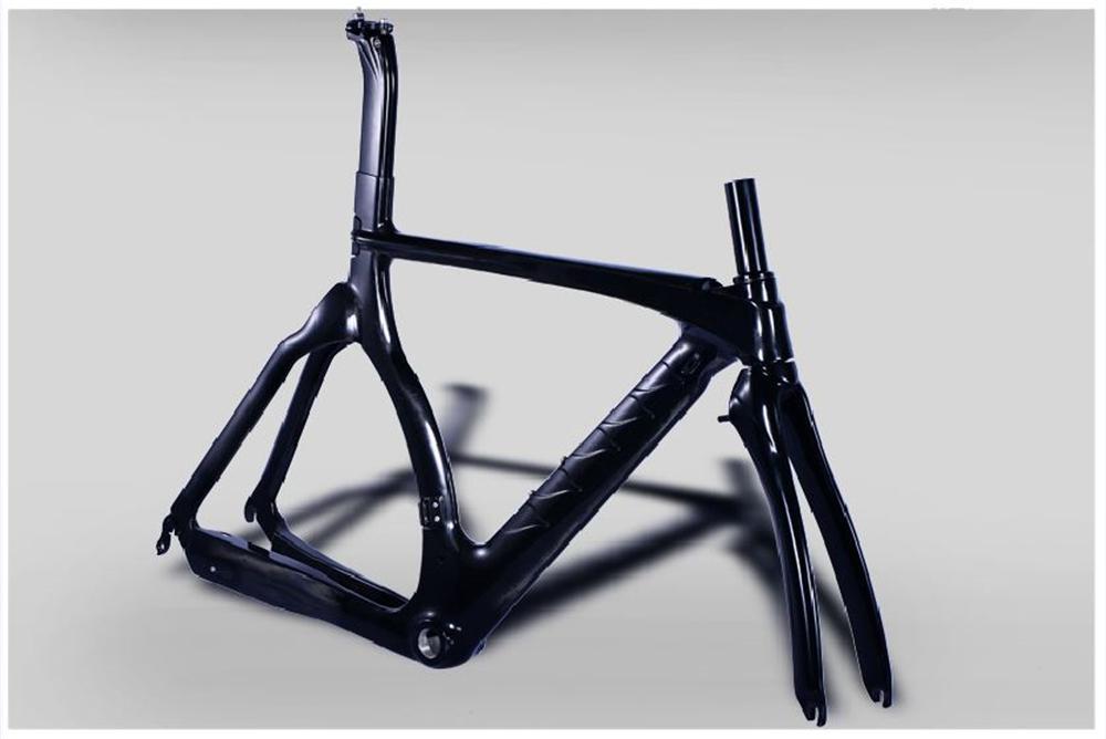online store 15488 c9dcf OEM Triathlon Zeitfahren Aero Race Fahrrad Carbon Fiber Rennrad Rahmen  Carbon Fahrradrahmen Gabel Sattelstütze Headset