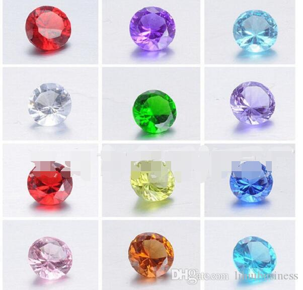diy handmade jewelry accessories floating charms floating locket pendant accessories round birthday stone 4mm locket charm