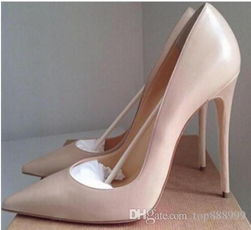 2017 80/100 / 120mm Mode lRed Bottom High Heels Schuhe für Frauen Hochzeit schuhe