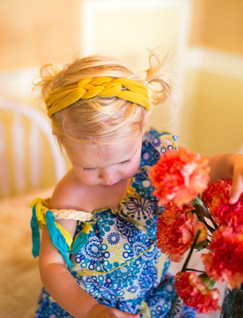 Meninas Crochet Cruz Headbands 11 Cor Trançado Cabeça Envoltório Nó de Segurança Elastic Hairband Bebê Infantil Criança Acessórios Boutique