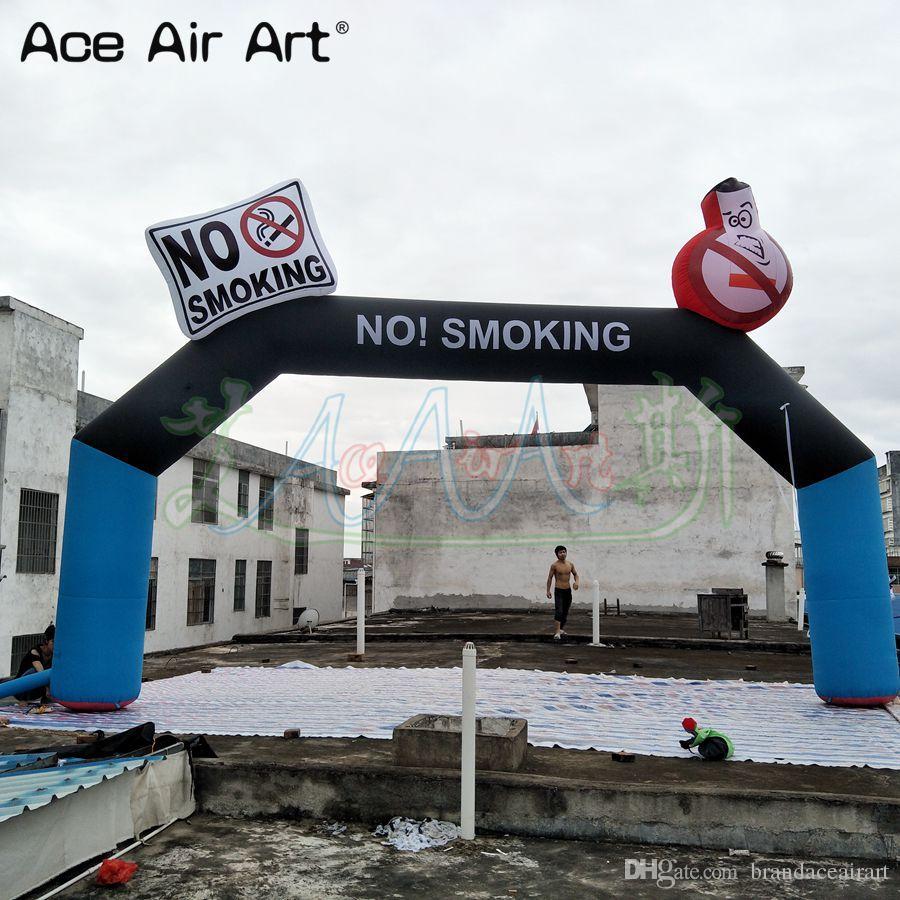 Mini Bögen Mit Logo Für Werbung Mit Freies Luft Gebläse Nach Schwarz Starten Finish Aufblasbare Arch Garten Liefert Garten Gebäude