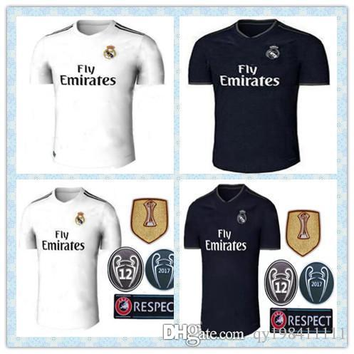 2019 2018 19 R Eal Madrid Soccer Jerseys Ronaldo Asensio Modric