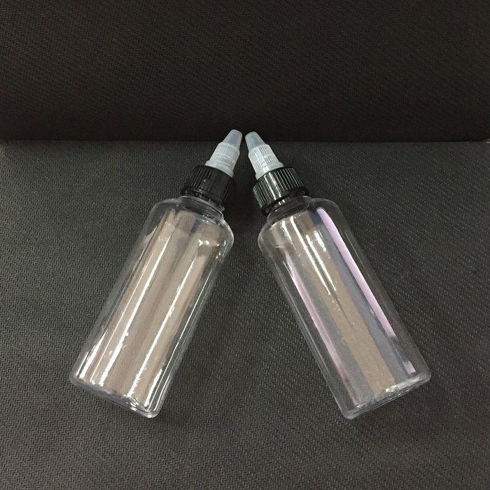 DHL Free Twist Off Caps Penna Forma Vape Olio Bottiglia 30ml 50ml 60ml 100ml 120ml PET Vuoto plastica Bottiglie contagocce E Vapor