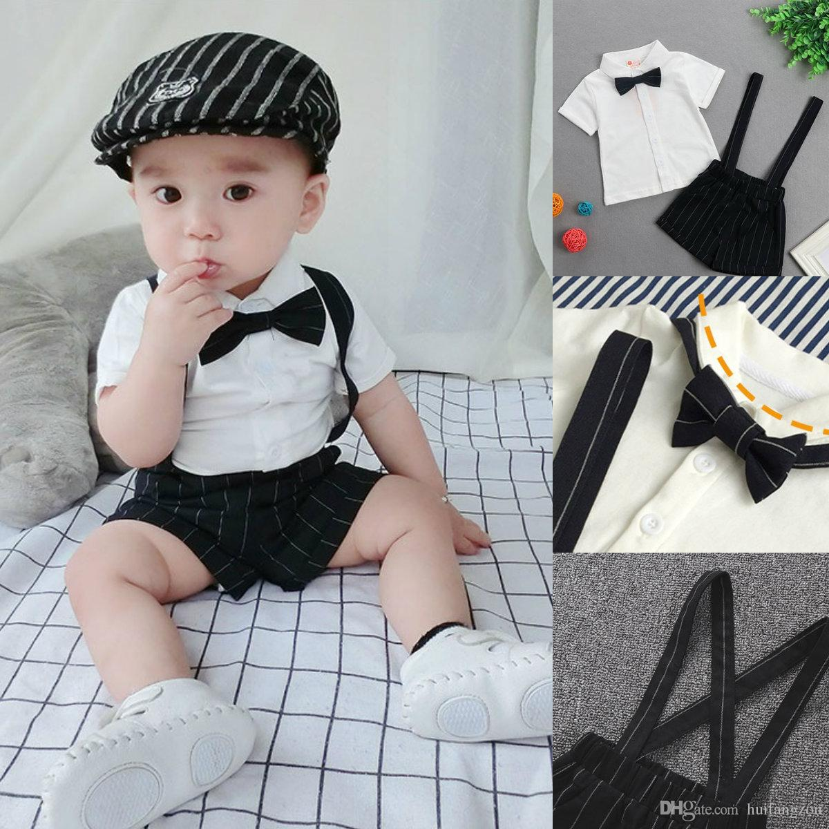 61df143612b38 New Arrival Baby Boy Clothes Cute Three Pieces 100% Cotton Comfortable  Spring Summer Boys Clothing In Stock 3M 36M Hire Wedding Suits Kids  Clothings From ...