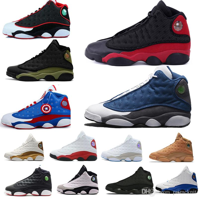 49c2d326338 New 13 13s Men Women Basketball Shoes Phantom Chicago Hyper Royal Black Cat  Flints Bred Brown Olive Wheat DMP Ivory Grey Sports Sneakers Shoes Mens  Online ...