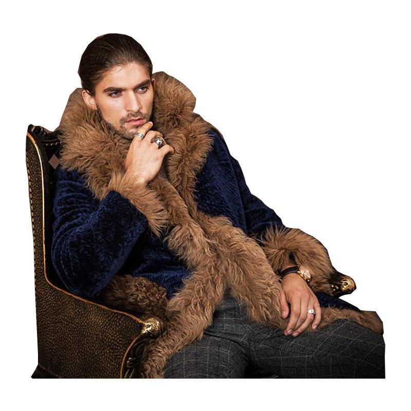 Veste en daim homme luxe