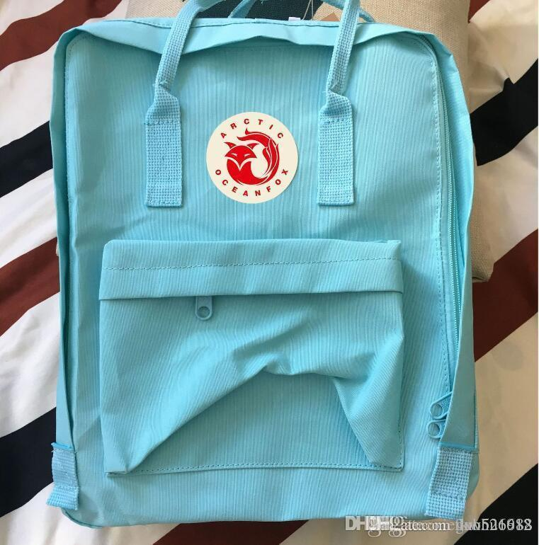 Factory Outlet Custom Arctic Ocean Fox Ins Backpack Male And Female  Students Schoolbag Waterproof Canvas Backpack Shoulders Ins Tide Brand  Online with ... 500757acf237e
