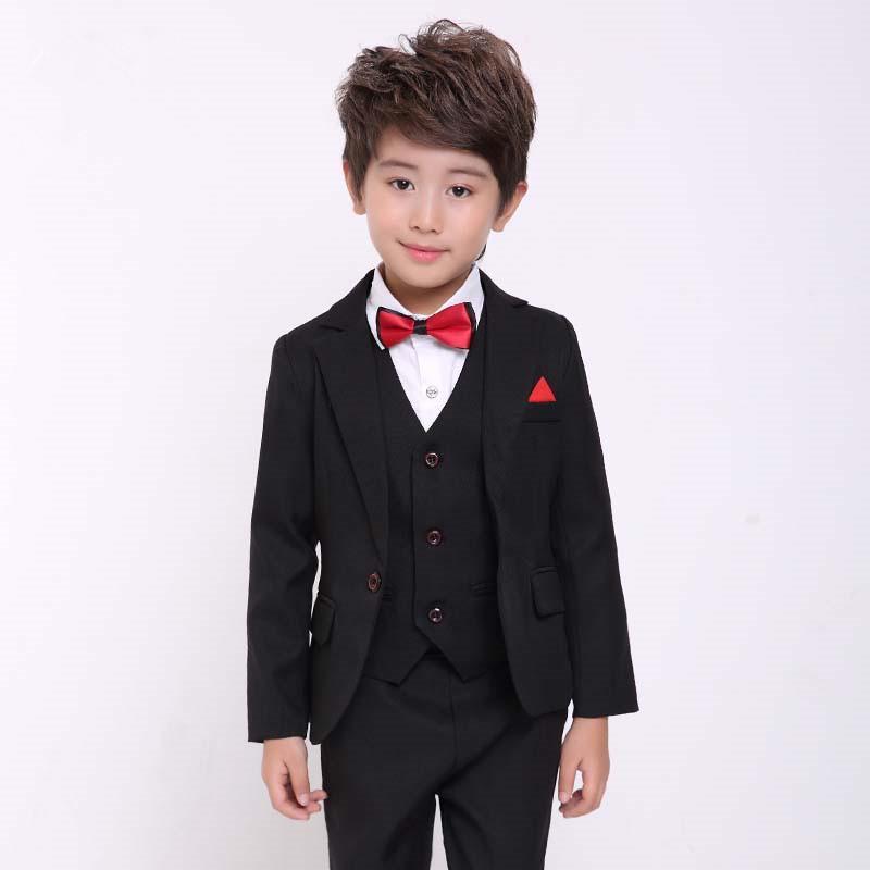 Charming 2019 Costum Homme Kid Suits For Wedding Jakcet+Pant+Vest+Tie Latest Coat  Pant Design Wedding Prom Slim Boy Blazer 727 From Edward03, $123.65 |  DHgate.Com