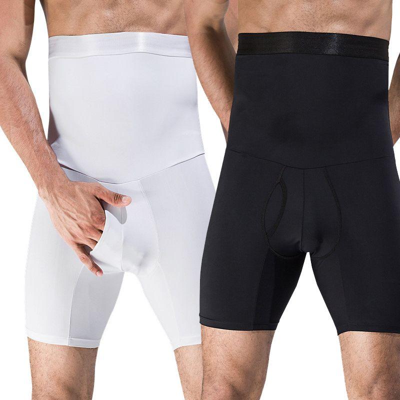 3f8a6044f60c 2019 Men Boxer Cueca High Waist Big Belly Control Panties Tummy Trimmer  Corset Stomach Body Shaper Boyshort Slimming Underwear Hot From Duanhu, ...