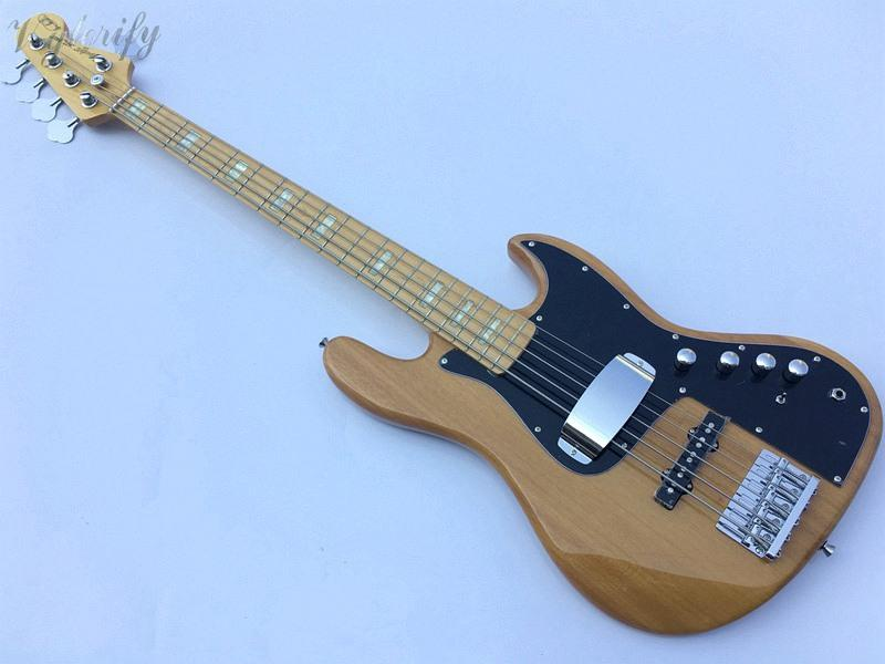 Circuito Jazz Bass : Good quality 5 string jazz bass guitar active circuit basswood