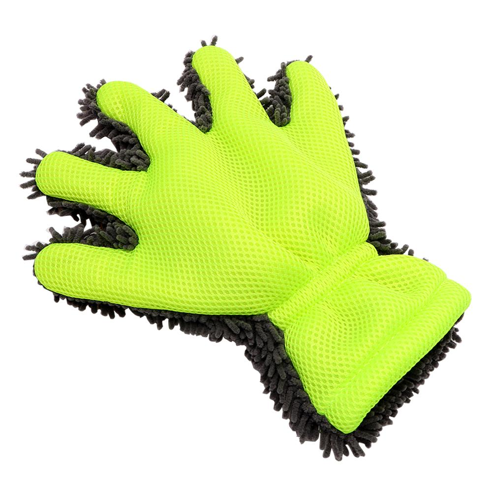Auto Care Detailing Home Cleaning Car Washing Gloves Microfiber Car Cleaning Window Wash Tool Car-styling