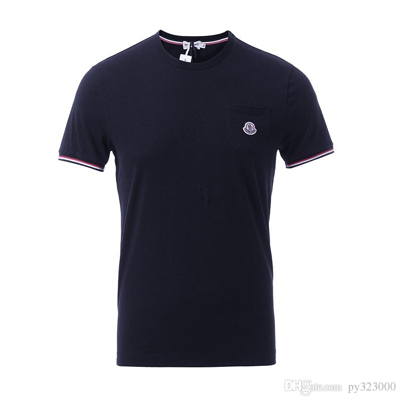 2018 funny tee cute camisetas Marca LOGO Bordado de los hombres 100% algodón fresco camiseta encantadora kawaii summer jersey costume camiseta de la camisa de los hombres