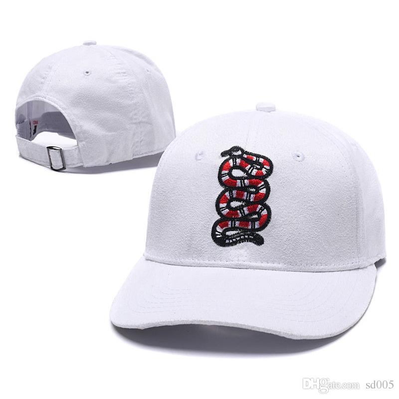 3477a5a5951 Snake Embroidery Cap Custom New Designer Brand Men Lady Adjustable Golf  Baseball Cap Hat Snapback Fitted Casquette Hats 16 8xh ZZ Beanies Kangol  From Sd005