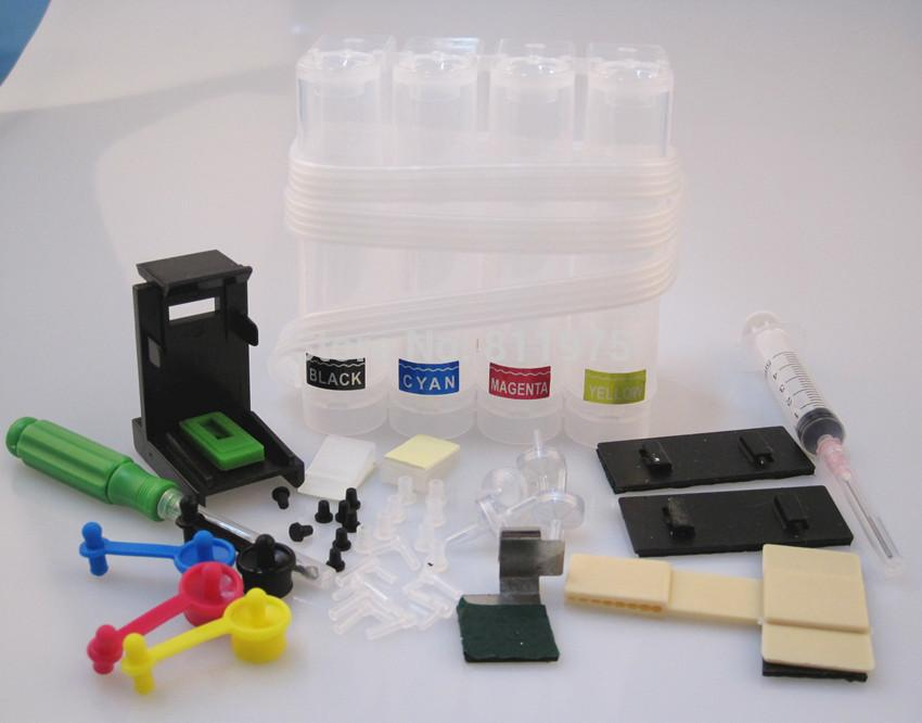 Continuous Ink Supply System Universal CISS kit with accessaries ink tank  for 21 22 301 901 818 122 121 all printer