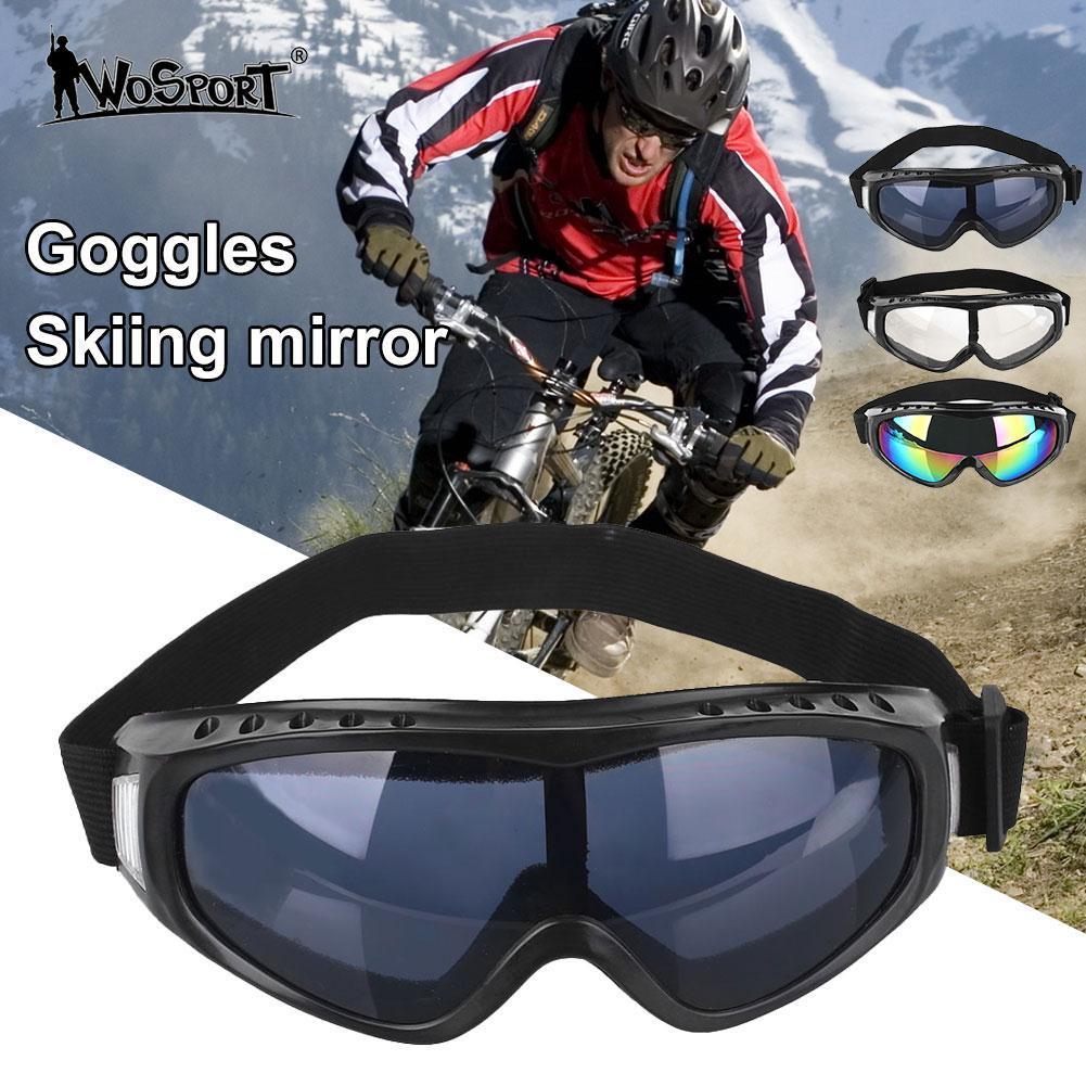 59e97fd5c9 Compre Gafas De Esquí Gafas De PC Lente Anti UV A Prueba De Viento  Antiniebla Arena Protectora De Invierno A $34.77 Del Booni | DHgate.Com