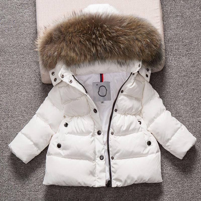 beb3f3175 Kids Snowsuit Hooded Boys Winter Coat Snow Wear Down Cotton Thermal ...