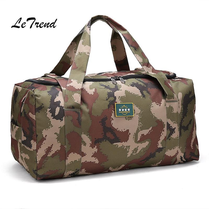 LeTrend Large Capacity Camouflage Travel Bag Trolley Men Fashion Luggage  Women Handbag Suitcase Short Shoulder Bags Ladies Suitcases Womens Suitcases  From ... bbe274444d
