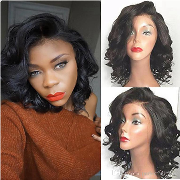 100% Human Hair Full Lace Deep Wave Wigs