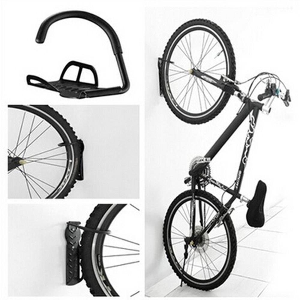 Bicycle Wall Hanger Bike Storage System For Garage or Shed installation easy Suitable for all type bikes Outdoor Cycling #30