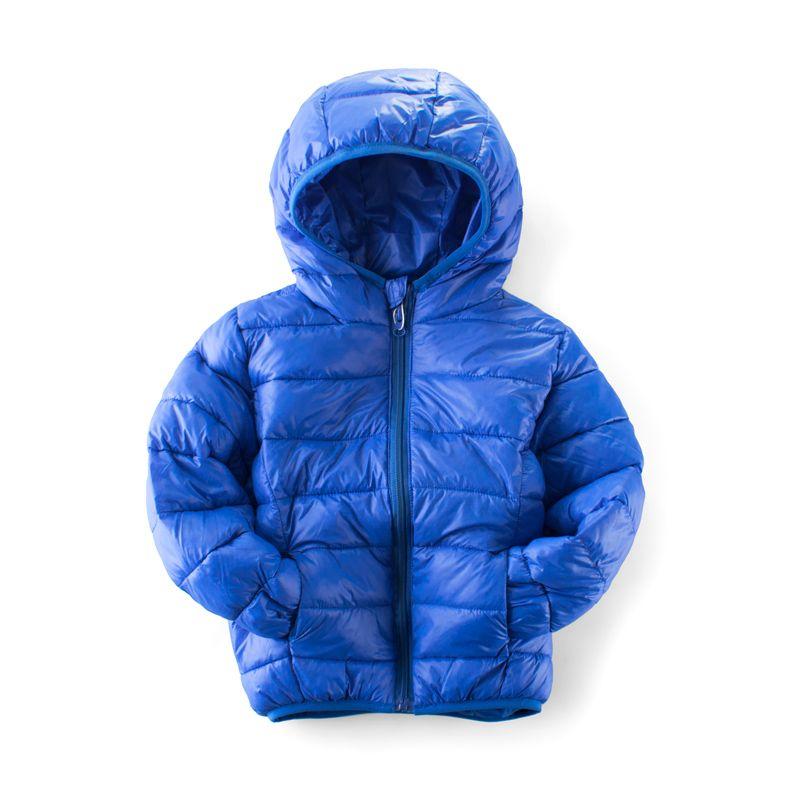 b133e5ad2a83 Boys Winter Jacket Hooded Kids Girls Winter Coat Long Sleeve ...
