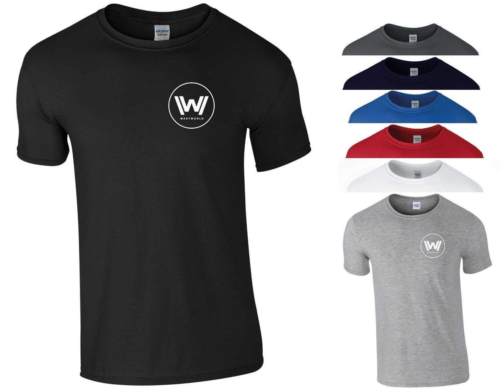 WestWorld T Shirt HBO TV Series Season 2 West World Alien Nerd Geek Gift  Men Top