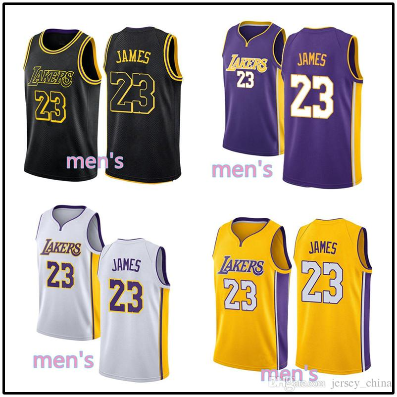 8b6847c9e ... basketball b5614 83aa9  sweden 2018 cheap 23 lebron james jersey men  2018 new city edition embroidery stitched yellow purple